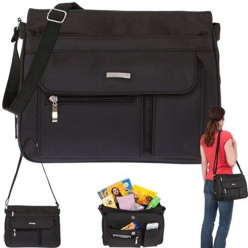 Handtasche Damen Alessandro Valencia Schultertasche Umhänger Tasche 3054 Schwarz