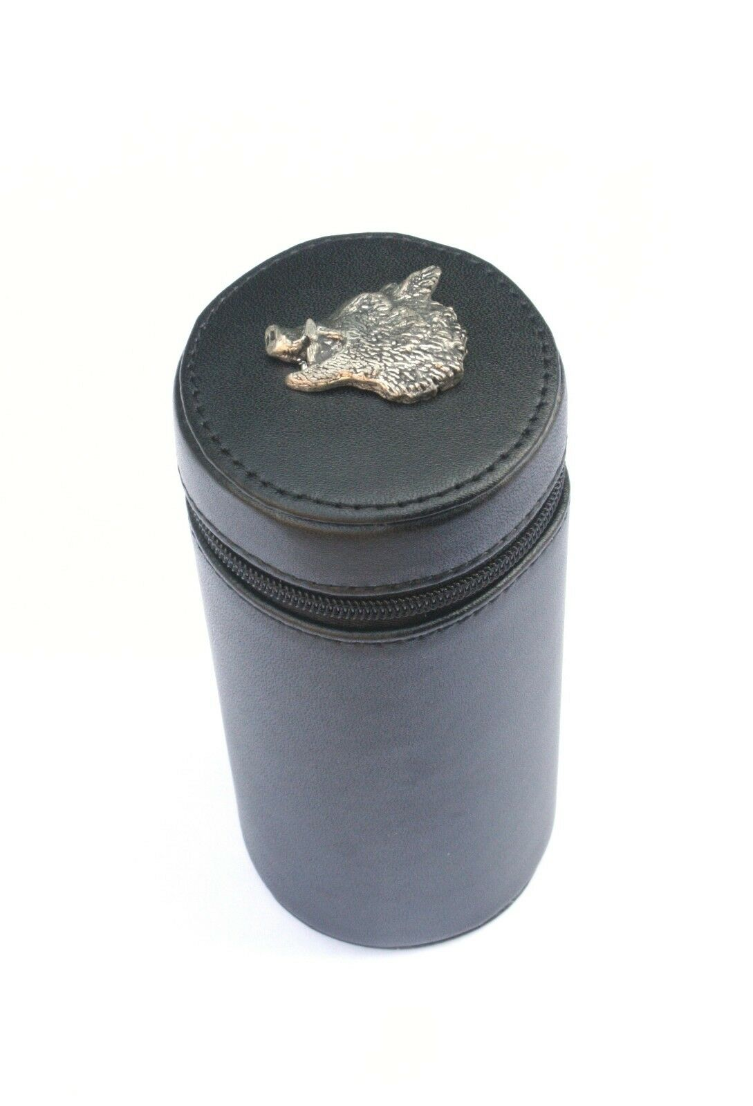 Boar Head Shooting Peg Position Finder Numberojo Cups 1-10 negro Leather Case