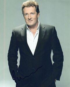 Piers-Morgan-Signed-Autographed-8x10-Photo-COA-VD