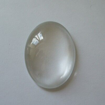 DOMED CABOCHON CLEAR GLASS OVAL ROUND & SQUARE 8mm 10mm 12mm 14mm 20mm 25mm  C05