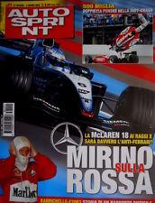 Autosprint 21 2003 Doppietta Penske nella Indy - Crash. Barrichello - F2003