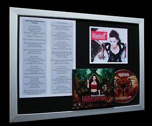 WITHIN-TEMPTATION-Sinead-LTD-CD-QUALITY-FRAMED-DISPLAY-EXPRESS-GLOBAL-SHIPPING