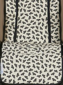 Keep-Me-Cosy-Pram-Liner-amp-Pram-Accessories-Universal-Cotton-Navy-Boat