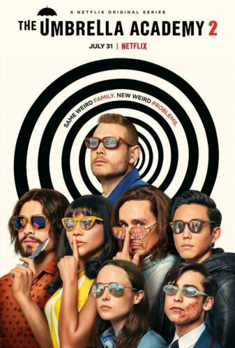 Details about  /The Umbrella Academy 2 TV Movie Poster Photo  8x10 11x17 16x20 22x28 24x36 27x40