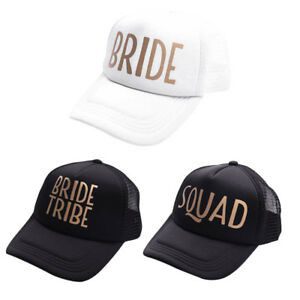 Team Bride Squad Baseball Mesh Cap Men Women Wedding Party ... 11ff75f0a4f8