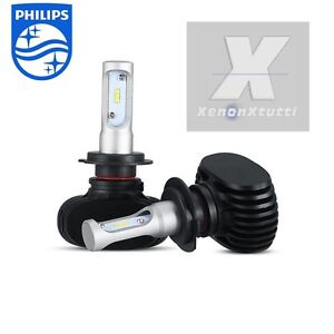 Kit full led canbus 55w xenon 8000 lm lumen h7 6100k for Lampade a led lumen