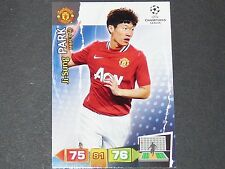J.S. PARK MANCHESTER UNITED UEFA PANINI CARD FOOTBALL CHAMPIONS LEAGUE 2011 2012