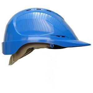 Aero-Safety-Helmet-Work-Wear-Hard-Hat-Defender-Cap-Black-Yellow-White-Blue