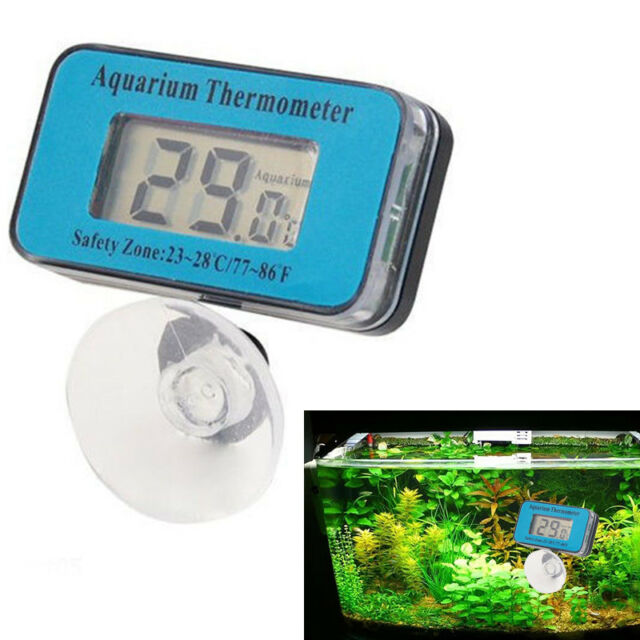 Digital LCD Waterproof Fish Aquarium Water Tank Temperature Thermometer Meter-n