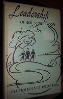 1943 Leadership Of Girl Scout Troops Intermediate Program