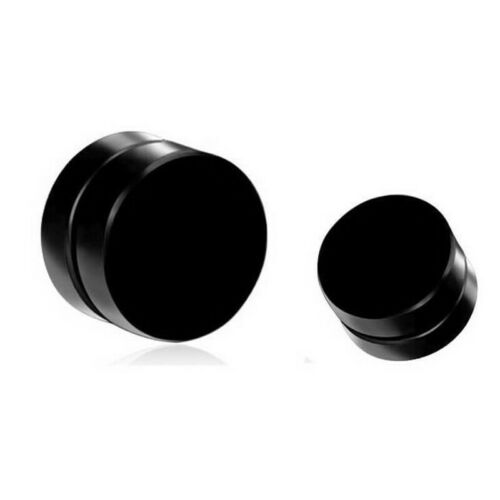 1 Paire Hommes Femmes Faux Piercing Oreille Clous Pince Rond Magnétique Boucles