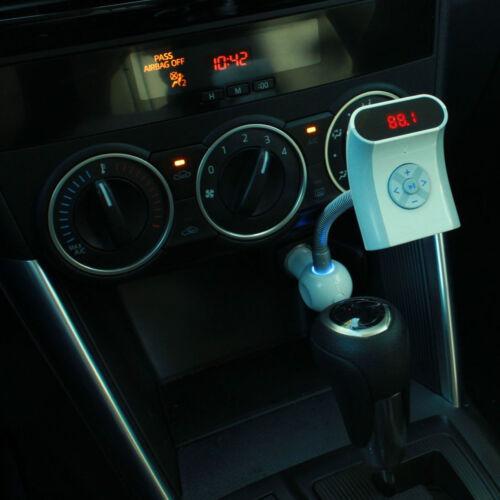 Kit de coche Bluetooth Manos Libres Transmisor Fm Sd Reproductor De Mp3 Cargador Usb Para Teléfonos