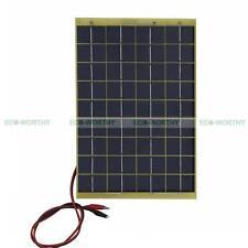 ECO 10W Solar Panel 10 Watt 12 V Garden Fountain Pond Battery Charger W/ Diode