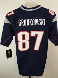 f289bdb8a Rob Gronkowski  87 New England Patriots YOUTH S-L-XL Nike Premier ...