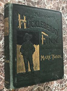 Adventures-of-Huckleberry-Finn-by-Mark-Twain-1891-First-Edition-Samuel-Clemens
