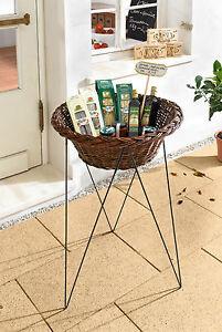 Verkaufsständer Angebotsaufsteller mit Korb Kundenstopper Auslagenkorb Wühlkorb
