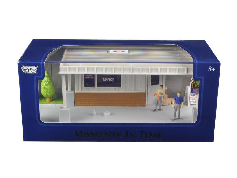 Diorama Big 8 Motel Scene Put Put Put Your Own Car Inside 1 43 - 73863N a5c81f