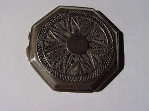 Compact Antique De Deux Caches D'argent Avec Filigrane Très Délicat Autres