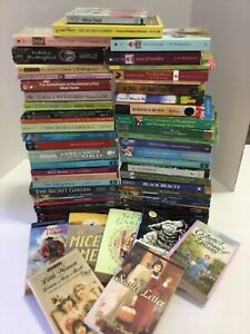 Lot of 20 Classic Literature Paperback Popular Author Bradbury Dickens Twain Mix