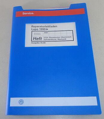Manuale    Officina    VW Lupo con 1 2l Tdi Motore Qualsiasi 61PS 3 Cilindri Meccanica   eBay