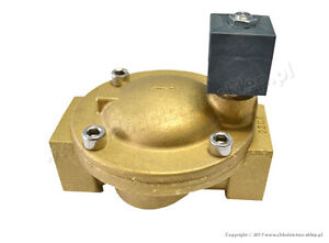 Solenoid-valve-CEME-8617-NC-1-1-4-034-10-bar-with-coil-230V-50Hz