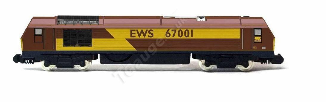 nuevo estilo T Gauge Gauge Gauge BR Class 67 Locomotive Number 67001  barato en alta calidad