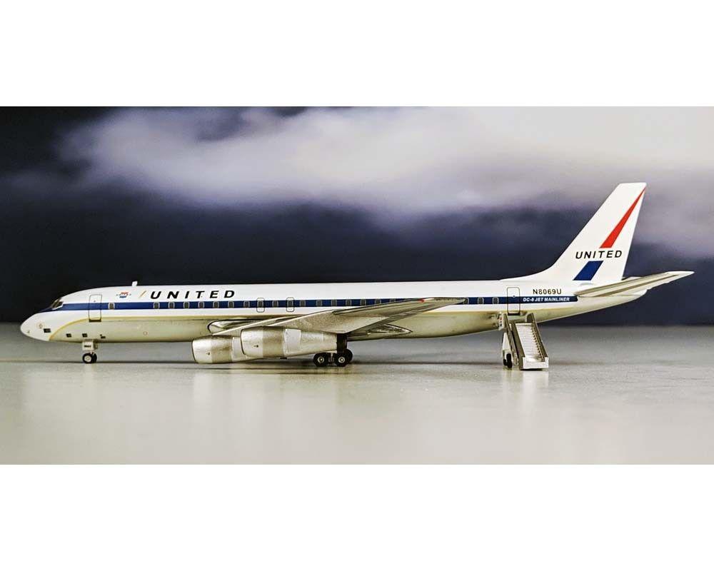 Aeroclassics United Airlines  DC-8-51 N8069U avec escalier échelle 1 200 AC219471  les ventes chaudes