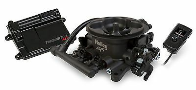 Holley 550-406 Hard Core Gray Terminator EFI Complete Self-Tuning System