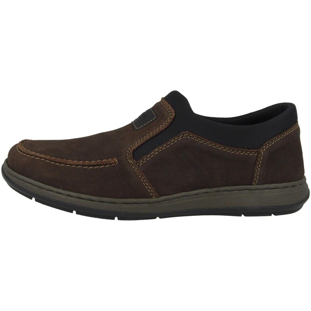 Rieker paso-Namur-Scuba Men zapatos caballero zapatos abotinados Slipper marrón 17350-25