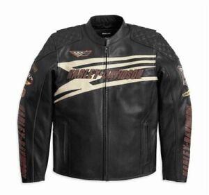 Racing Giacca Pignone Uomo Di Pelle Perforato Harley Davidson 12vm 2xl 97116 qxU6wBXt