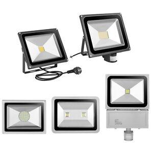 10w 20w 30w 50w 100w 500w led fluter au en strahler flutlicht scheinwerfer licht ebay. Black Bedroom Furniture Sets. Home Design Ideas