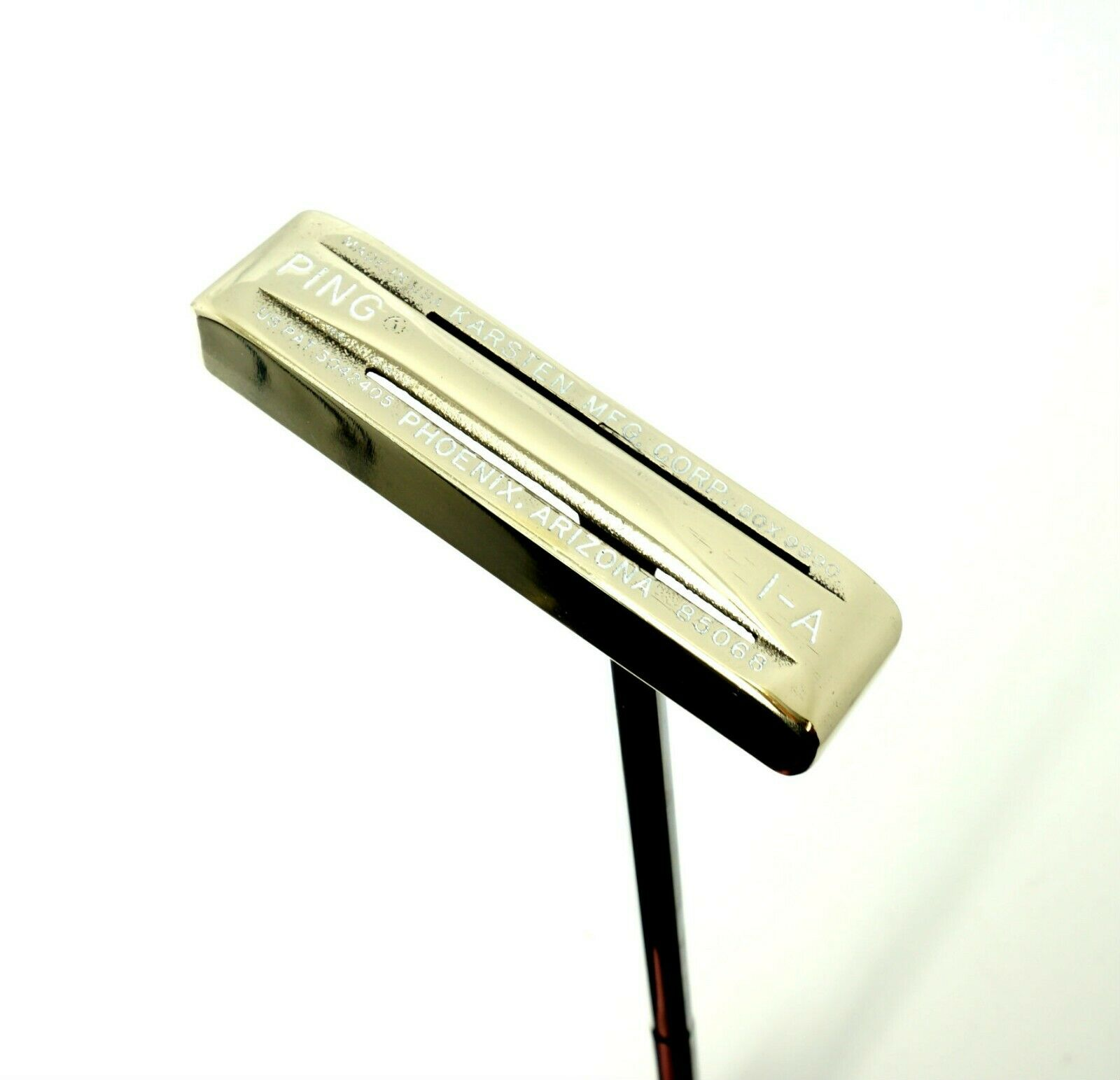 Polished Ping 1-A Dual Faced Brass Putter