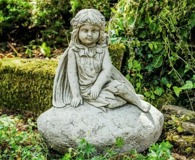 Three Wonderful Large Fairy Garden, Garden Statue Fairy