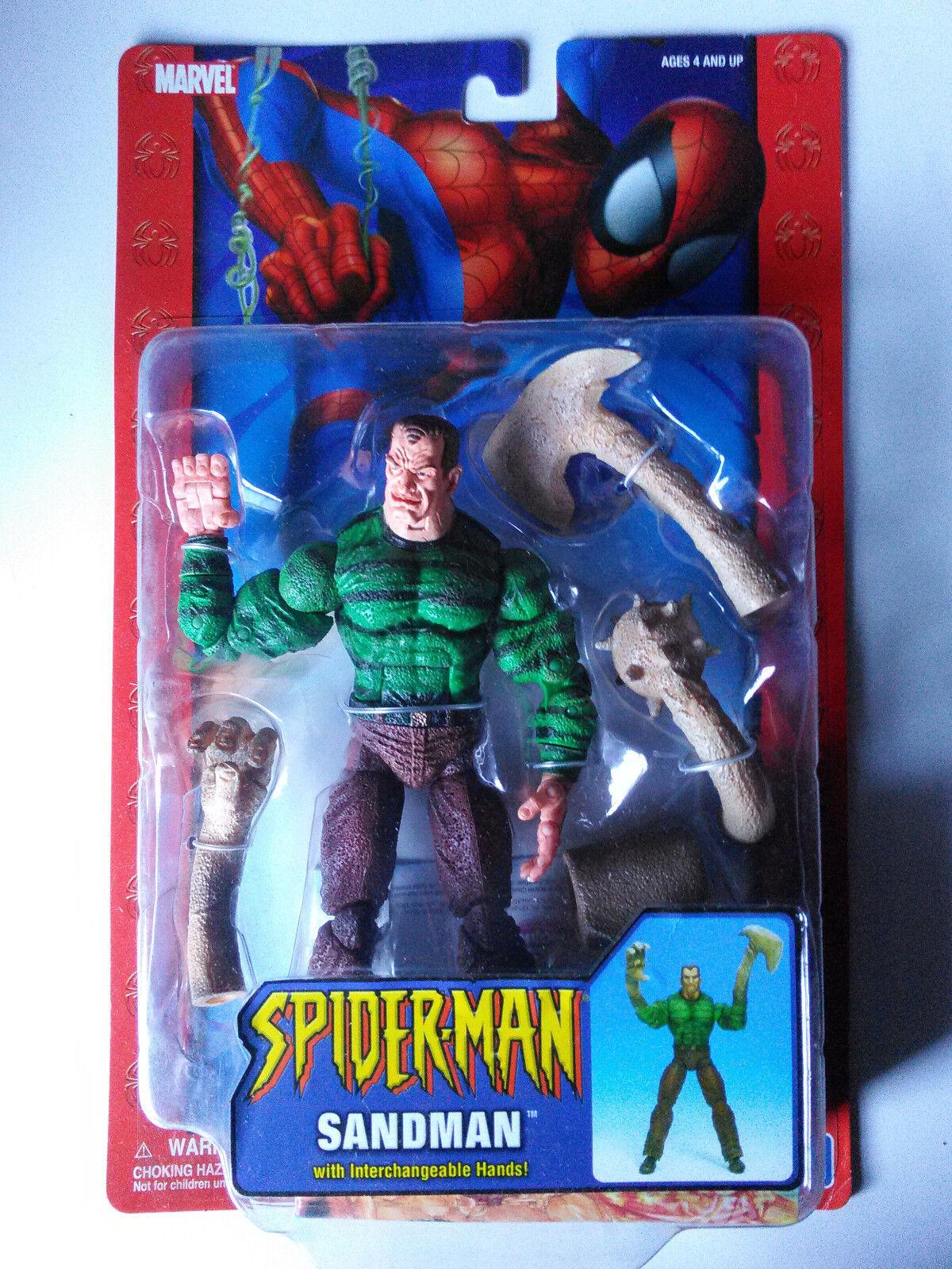 Marvel Sandman SMC Spiderman toybiz  NEW FREE SHIP US