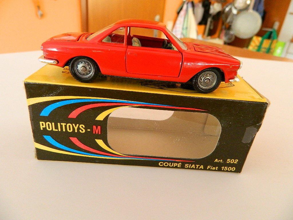 precios mas baratos PoliJuguetes 502 Fiat Siata Siata Siata Coupe 1500 en caja original-vintage 1 43 raras  precio al por mayor