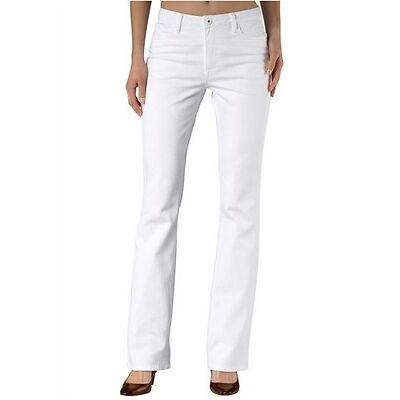 H.I.S Jeans Sunny NEU Gr.50 Bootcut Weiß Damen Hose Stretch Denim L29