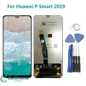 Pour-Huawei-P-Smart-2019-POT-LX3-LX1-LX2-LCD-Ecran-vitre-Tactile-Assemblee-noir