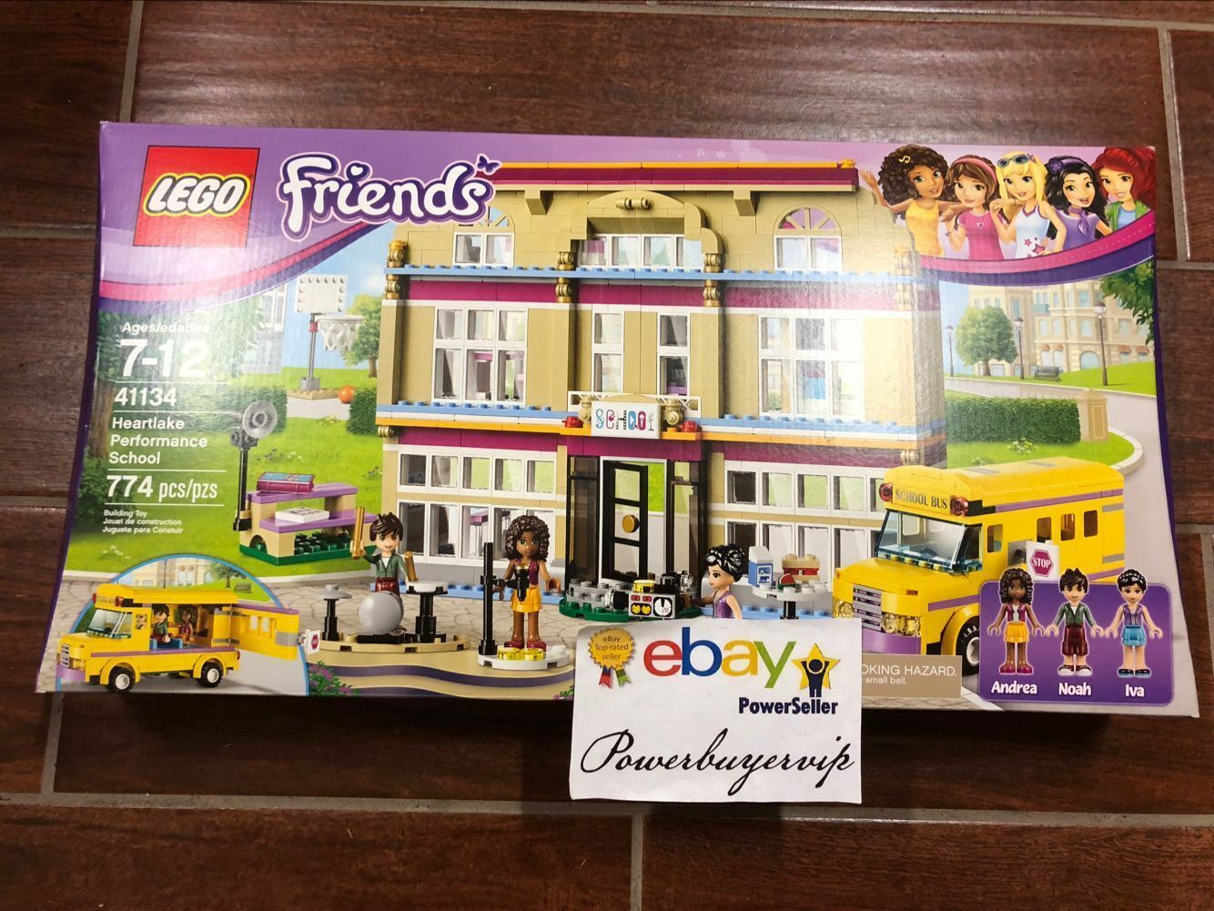 NEW LEGO 41134 LEGO Friends Heartlake Performance School Girls Gift 2 DAY GET
