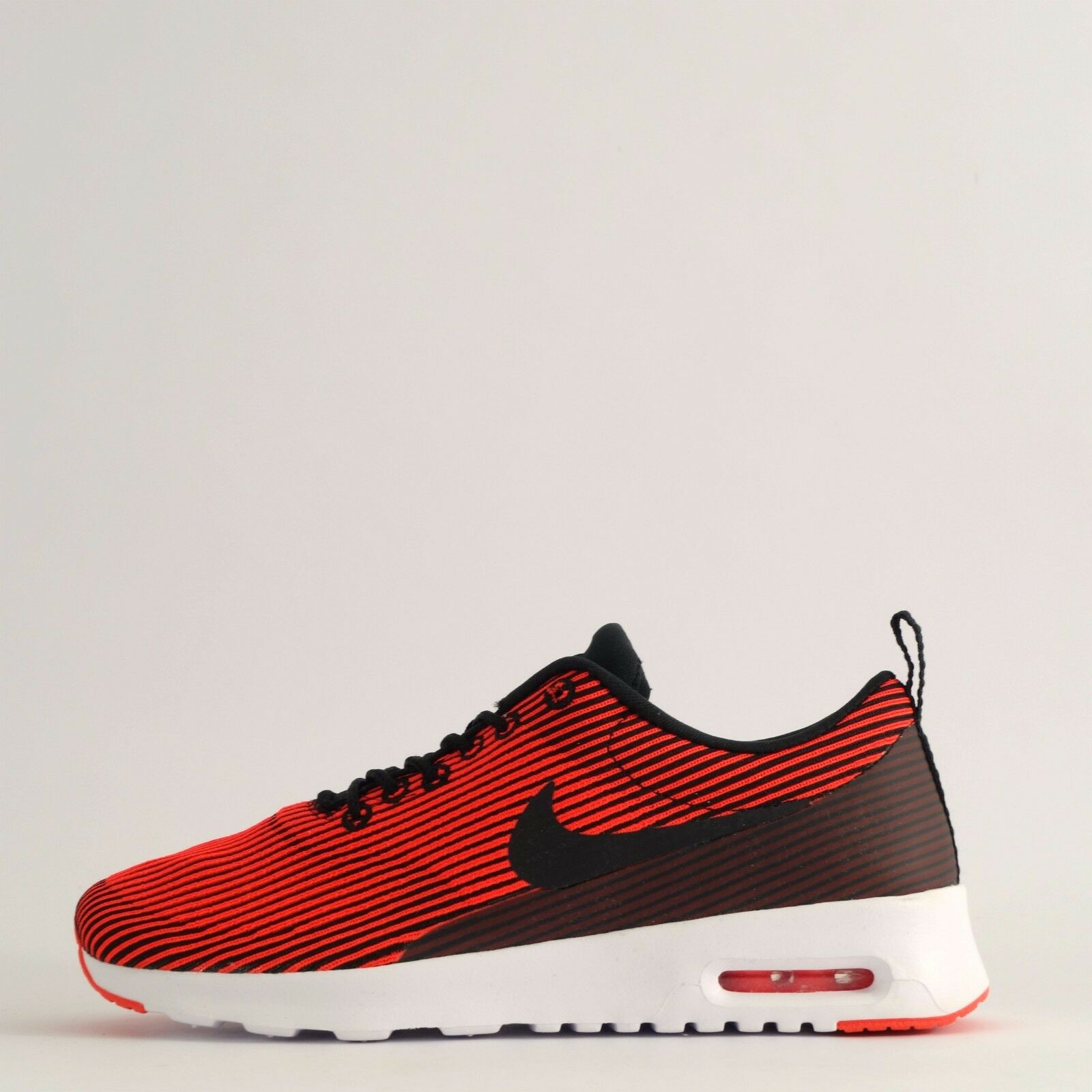 Nike Air Max Thea Jacquard Womens Trainers shoes Sneakers Black Bright Crimson