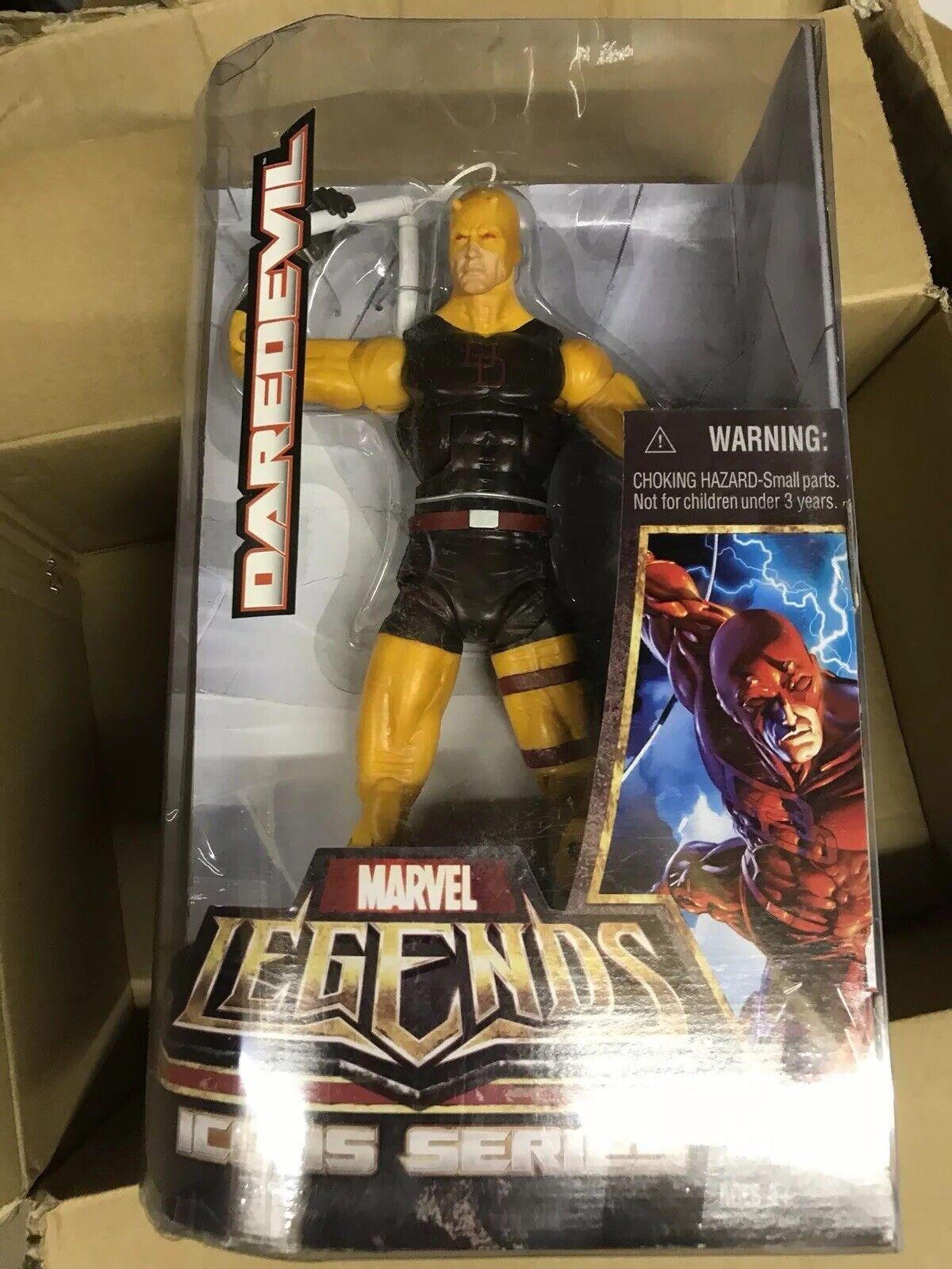 Marvel Legends Icons 12  Comic Daredevil Yellow Variant Rare
