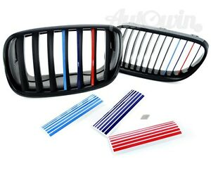 BMW Series E Grill Stickers SET M Sport Grille Stripe Decal - Bmw grille stripe decals