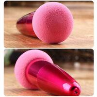 Women Popular Cosmetic Makeup Foundation Liquid Cream Concealer Sponge Brush FT