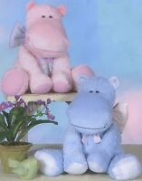 Little Hippo Stuffed Animal Sewing Pattern, From Cotton Ginnys Patterns