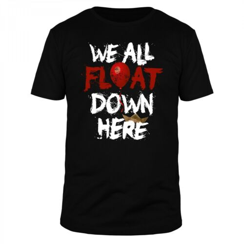 We All Float Down Here Vintage Halloween Steven Horror King Pennywise Shirt