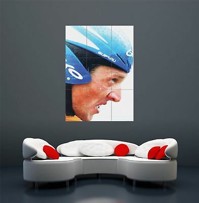 LANCE ARMSTRONG TOUR DE FRANCE SPORT CYCLING GIANT POSTER PRINT X1635