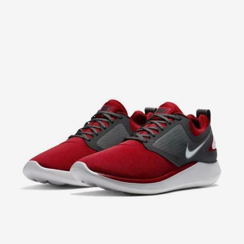 Mens Nike Lunarsolo Lunarsolo Lunarsolo AA4079-602 Gym Red White NEW Size 10.5 aa5197
