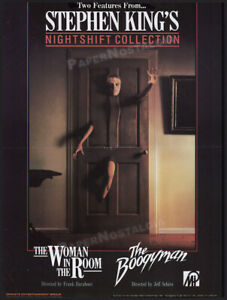 STEPHEN-KING-039-s-NIGHTSHIFT-COLLECTION-Original-1985-Trade-Print-AD-poster