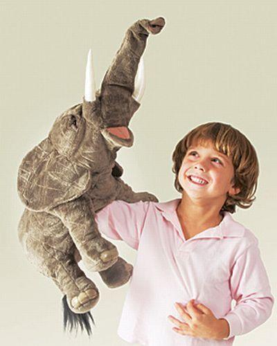 ELEPHANT Puppet  2534   Free Shipping/ USA  Folkmanis Puppets