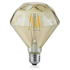 Trio-Leuchten-902-479-LED-Vintage-Filament-E27-4W-braun-Diamant-Warmweiss-2700K