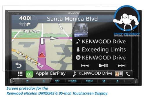 Tuff Protect 2pcs Anti-glare Screen Protectors For Kenwood eXcelon DNX994S